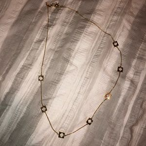 Gold Kate spade necklace